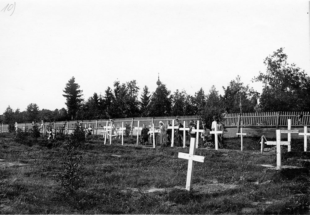 Narva, a military burial, 1914-1918, Russia, July 1921