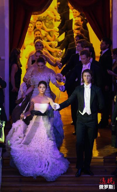 第二届《尚流(Tatler)》杂志名媛年度舞会在莫斯科举行。这是莫斯科上流社会重要的事件之一。