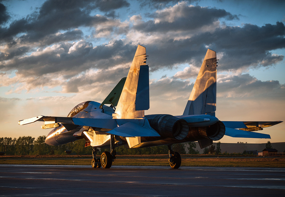 The Sukhoi Su-30 is a two-seat fourth generation fighter aircraft. It's manufactured at the Irkutsk Aviation Factory (IAF). The company has produced more than 7,000 aircraft of 20 different types during its time of operation since 1932.