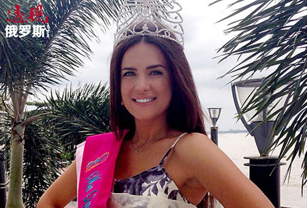 """今年的""""全球美皇后""""决赛在南美洲的厄瓜多尔举行。尤利娅•约宁娜最终战胜其他39位选手,取得了胜利。"""