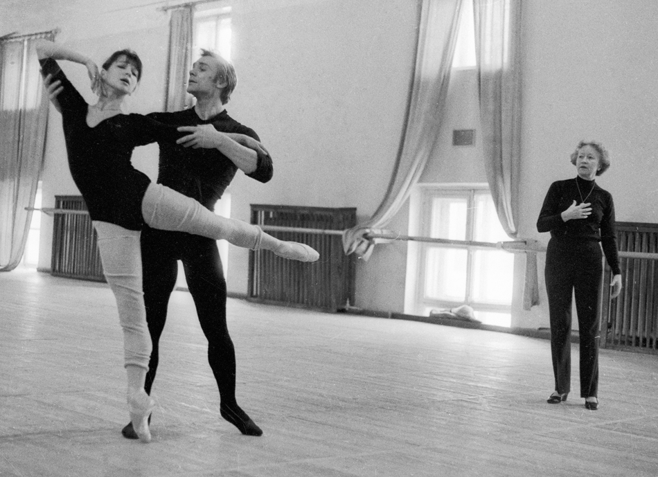 "Galina Ulanova, in turn, trained a start of 1960s ballet, <a href=http://http://rbth.com/multimedia/infographics/2014/01/31/ekaterina_maksimova_33721.html target=_parent>Ekaterina Maksimova</a>, and her husband and eternal partner, Vladimir Vasiliev. The 1960s were a time of artistic searching and innovation. Vasiliev and Maksimova were ""60s children"" on the ballet scene. This star couple had success after success and united the whole world."