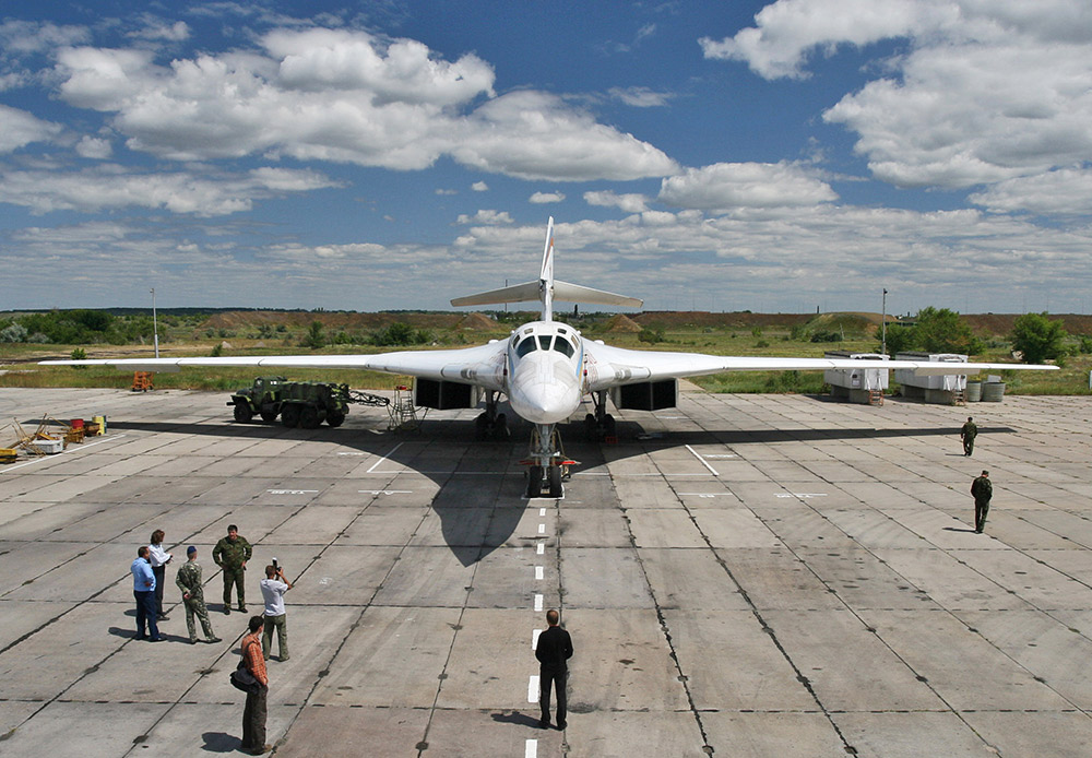"The Tu-160 strategic bomber, known as the ""White Swan,"" is the largest supersonic aircraft in the world. The Russian Air Force only has 16 these days, but that is still enough for nuclear deterrence purposes. After 2020, Russia will implement the PAK DA program to create a next-generation long-range aviation complex, which will gradually replace the Tu-160 and Tu-95."