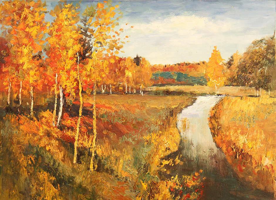 Isaac Levitan simply loved painting the fall — in all he painted more than 100 autumn landscapes. His «Golden Autumn» is the most popular of them. // Isaac Levitan «Golden Autumn», 1895