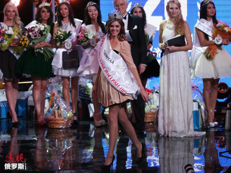 La ganadora del concurso recibió la corona hecha de plata con doradura y adornada con piedras semipreciosas