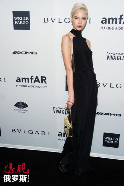 然而,萨沙·露丝所取得的个人最大成功则是在2014年秋冬服装展示中。她引起了轰动。