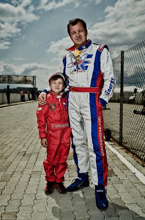 Some of these boys go to the race track for the thrill of the game, the risk, and their dreams. Others go because their parents want them, too. Volodya from Perm is 6 years old. He just had his second competition. His dad is 36 and he's been racing since he was 3.