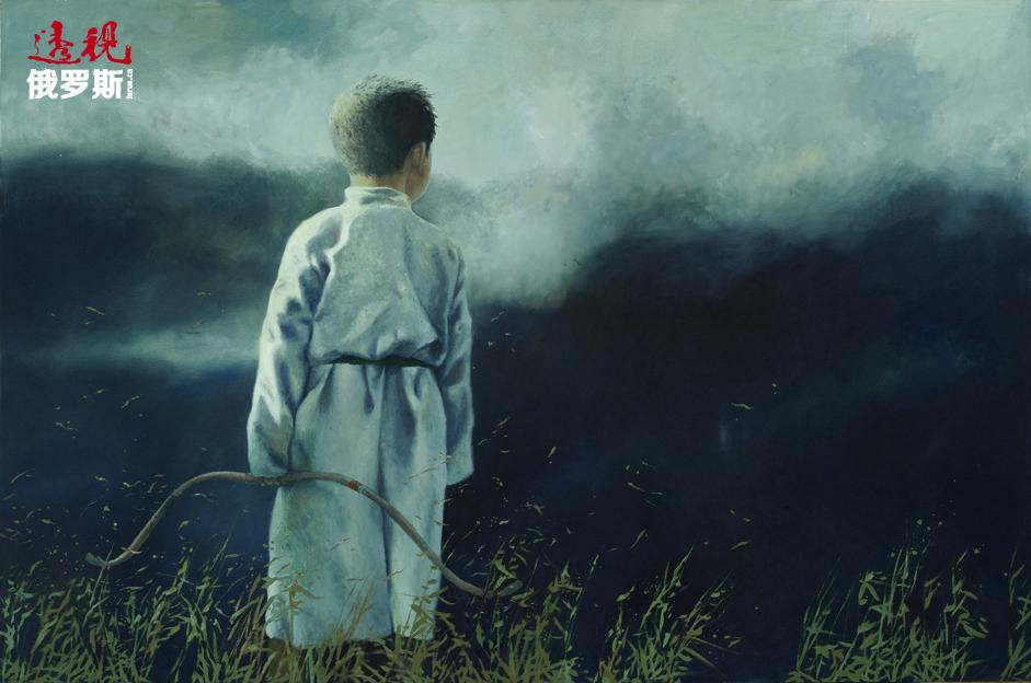 """这位艺术家创作了将中亚和东亚文化特征相互交融的作品,辽阔的草原常常成为其画作的背景和主题。大草原是道尔吉作品的主旋律,而主人公则是——游牧民。正如画家本人所说:""""游牧民于我——是一名观察者……这是艺术家、诗人和哲学家。众所周知,他非常孤独。"""""""