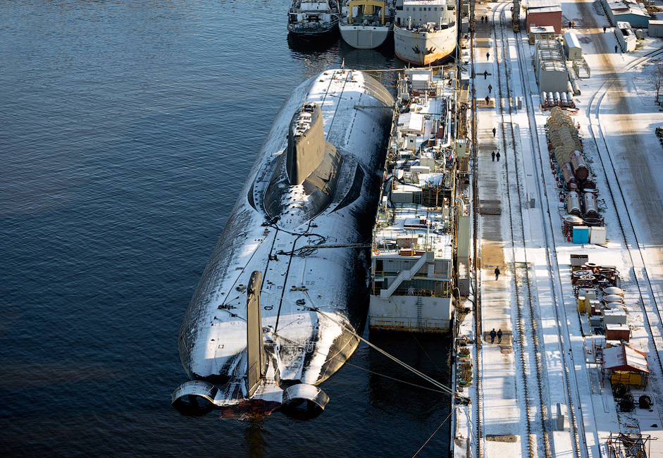 The Dmitri Donskoy is a Russian Navy nuclear ballistic missile submarine (designated Project 941 Akula class).