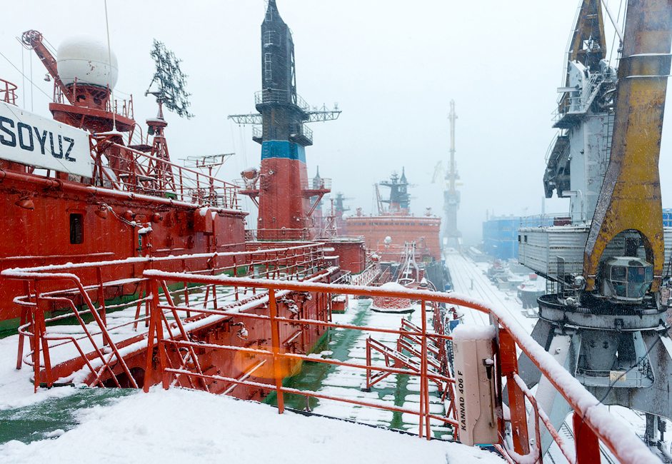 At present Russia plays the leading role in the use of atomic icebreaking fleet to provide shipping in the Arctic and other freezing seas. To successfully operate in the Arctic Russia is constantly developing and improving atomic icebreaking fleet which represents the key element of the Northern Sea Route infrastructure.