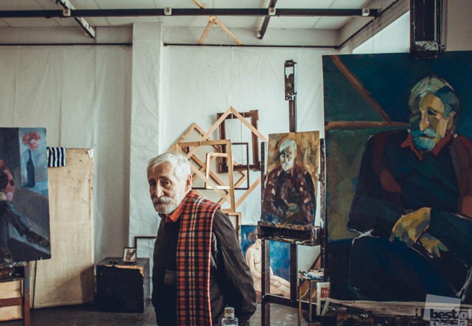 An artist, Moscow