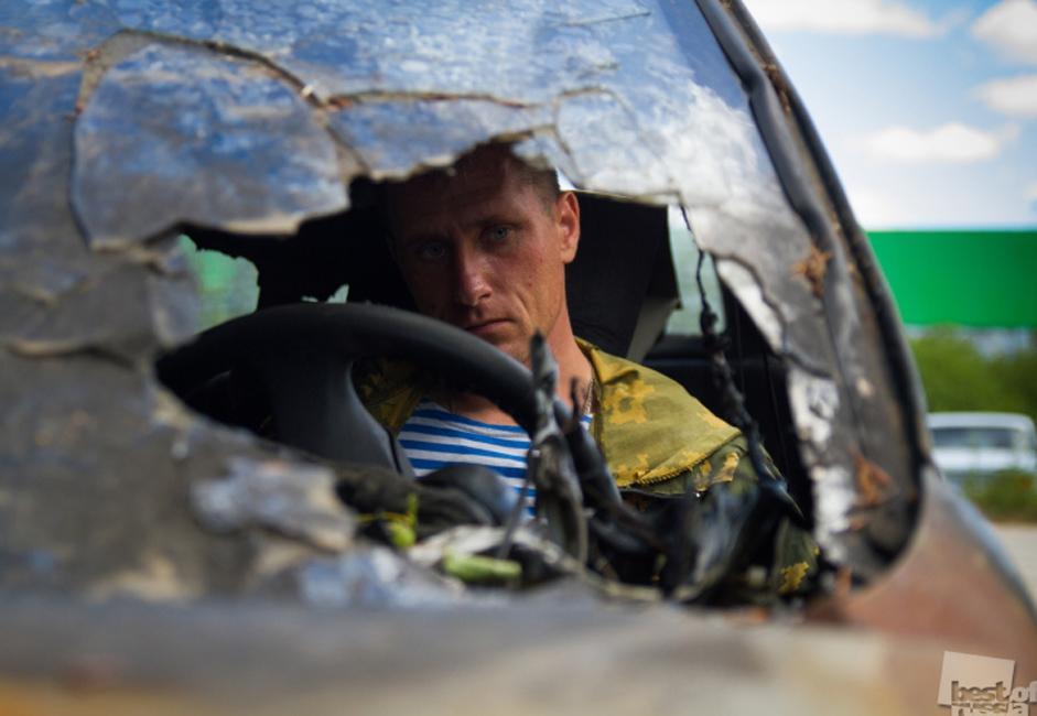 A driver, Tver region