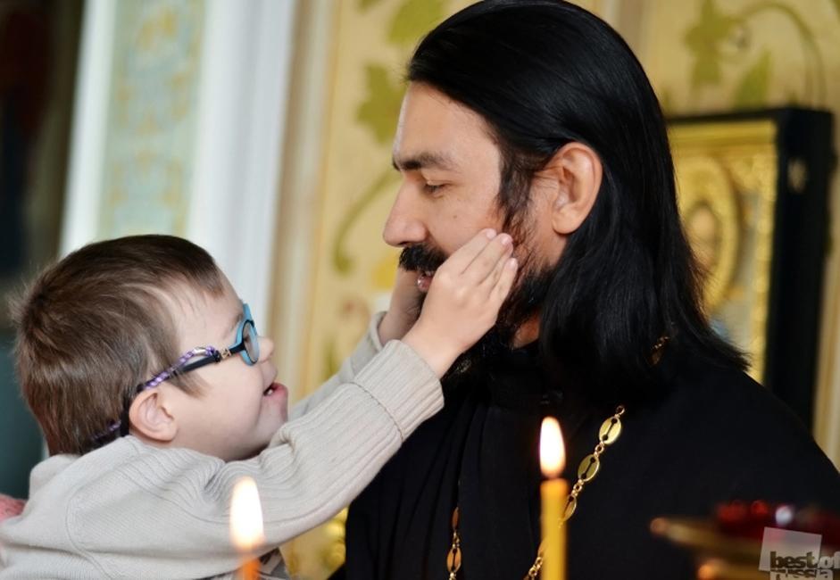 A priest, Chelyabinsk