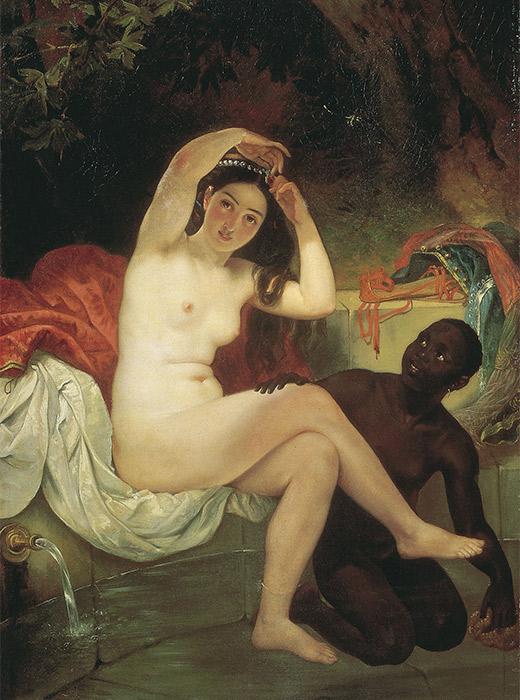 Bathsheba, Karl Bruyllov. 1832