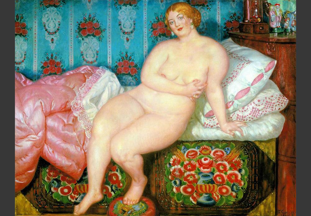 The Beauty, Boris Kustodiev. 1915