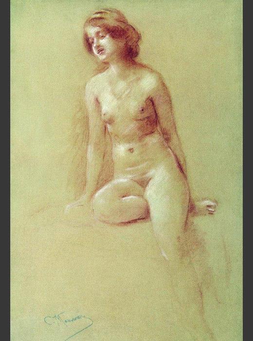A Model, Konstantin Makovsky