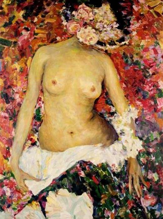 Nude, Fillipp Malyavin