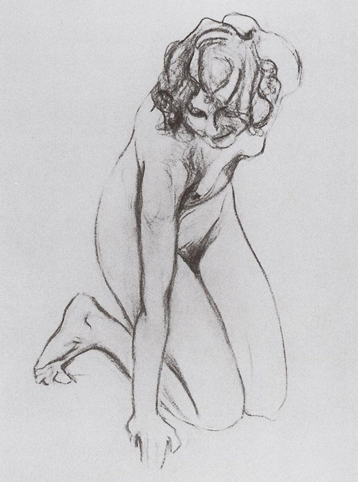 Naked Woman, Valentin Serov. 1910