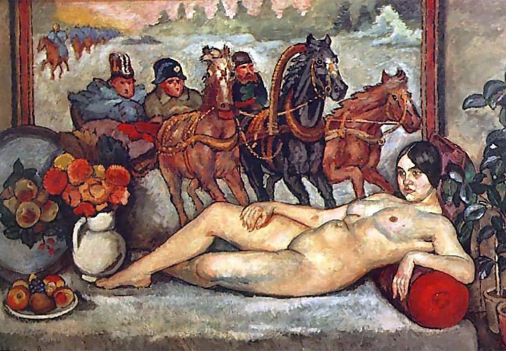 Russian Venus, Ilya Mashkov. 1914