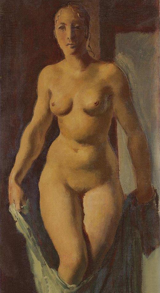 Standing Nude, Alexandre Jacovleff. 1928