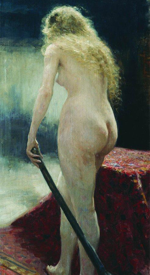 The Model, Ilya Repin. 1895