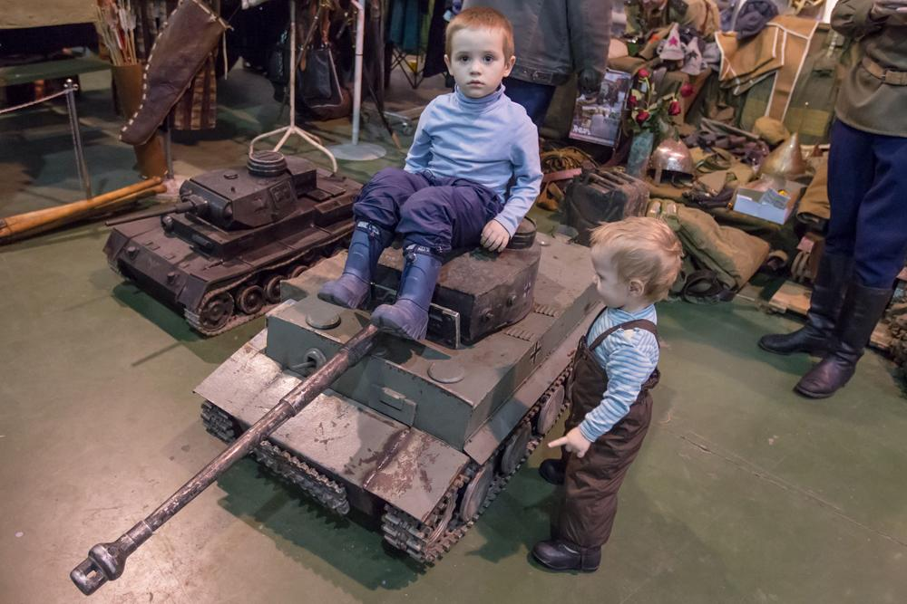 The miniature version of the German Tiger heavy tank was a tough target for Soviet tanks.