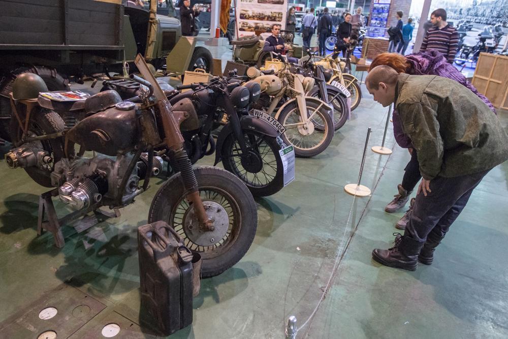 German motorcycles.