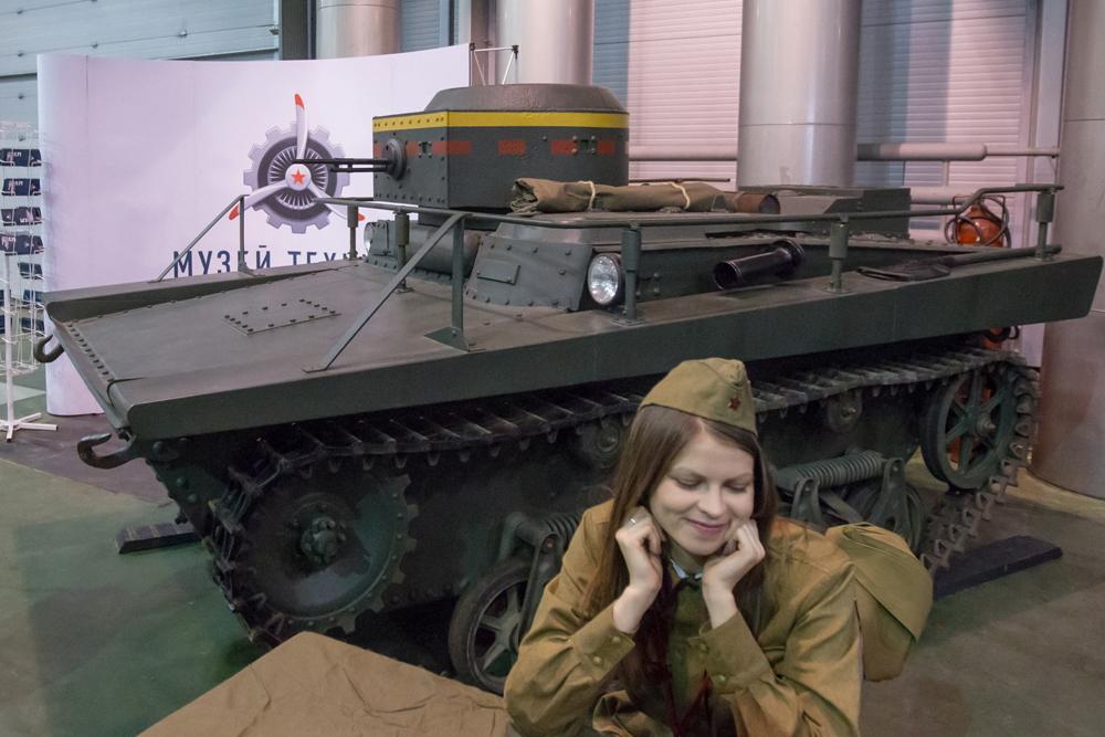 "The BM-13 combat vehicle rocket artillery (aka ""Katyusha"") terrified the Germans."