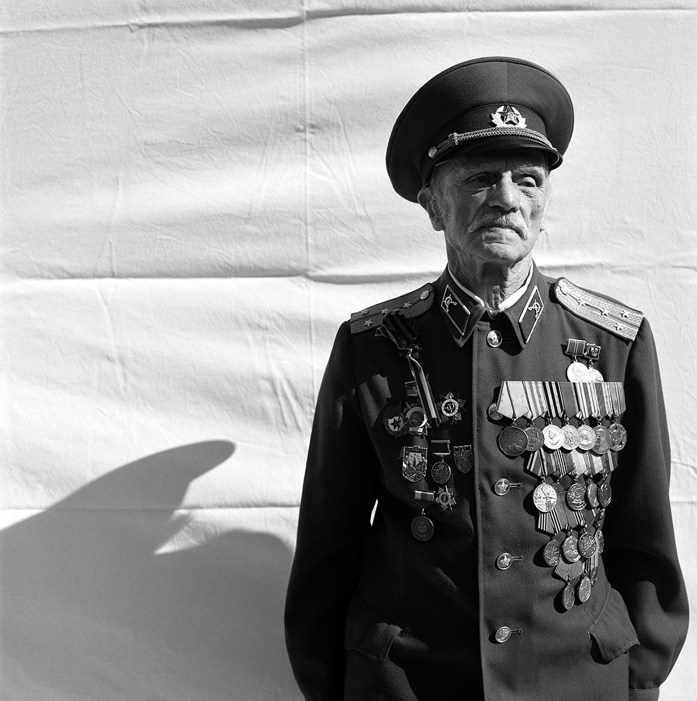 James Hill portraits of veterans