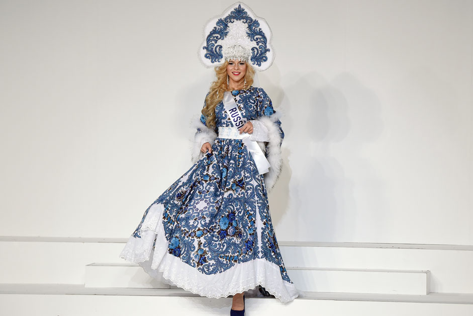 Miss Russia Valeria Kufterina
