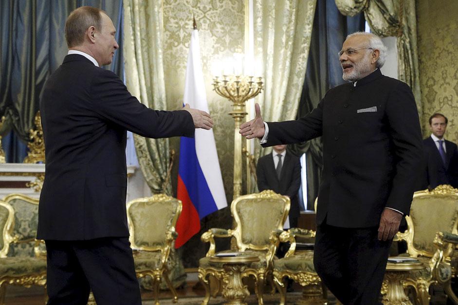 Putin Modi