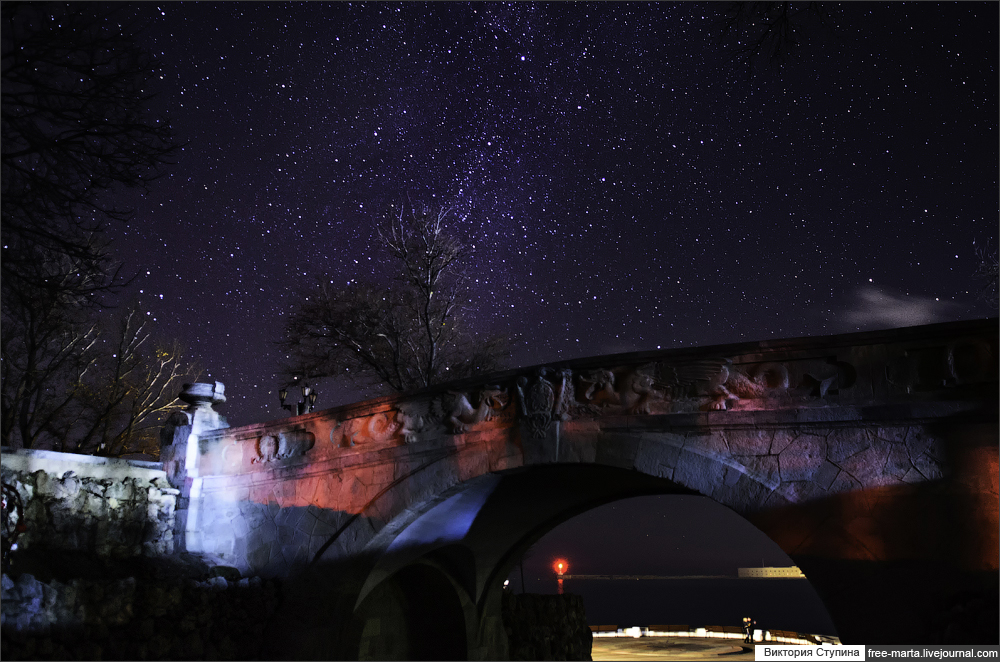 Stars in Crimea