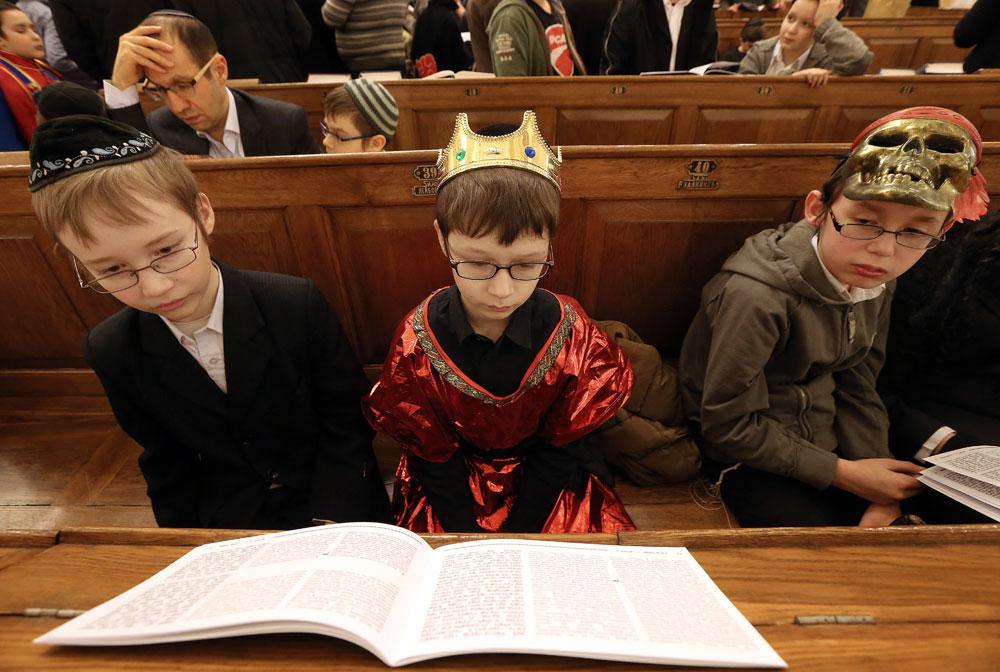 Jewish community celebrate Purim