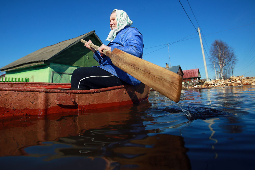 Flooding in the Ivanovo region