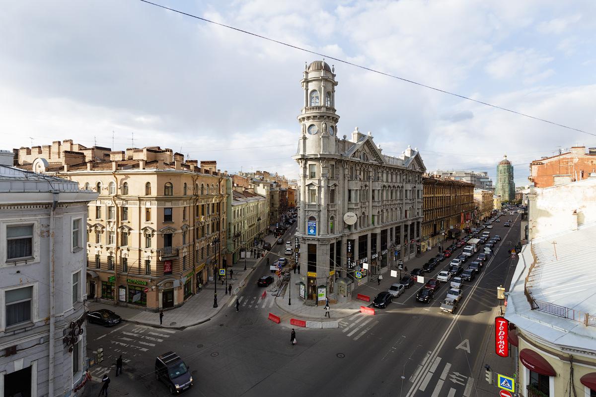 Roofs St. Petersburg
