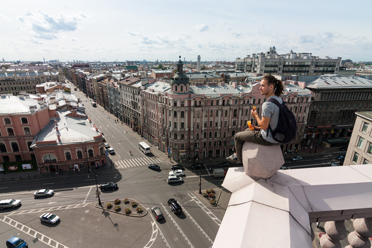 Russian roofers