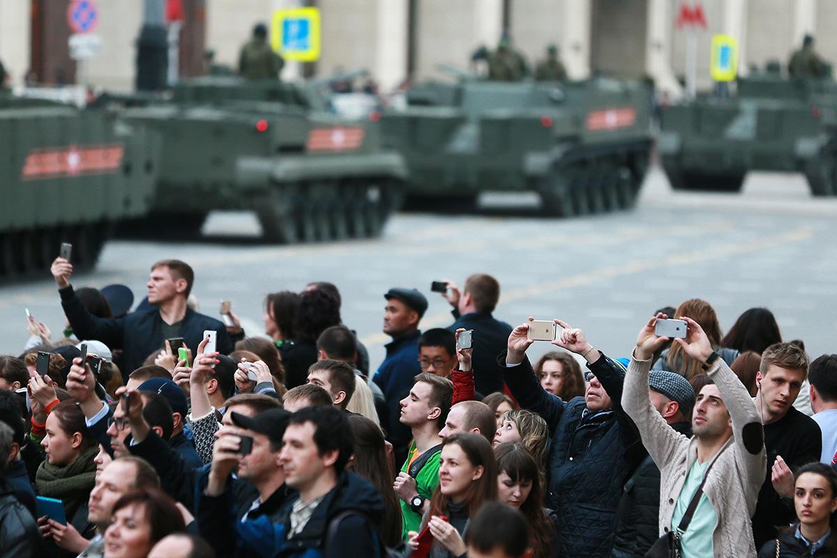 Victory parade spoiler