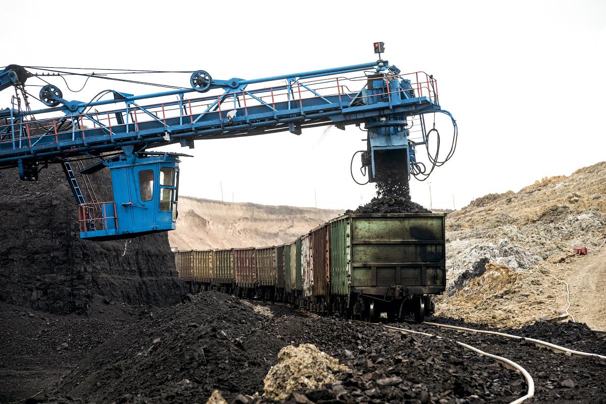 Nazarovsky coal mine