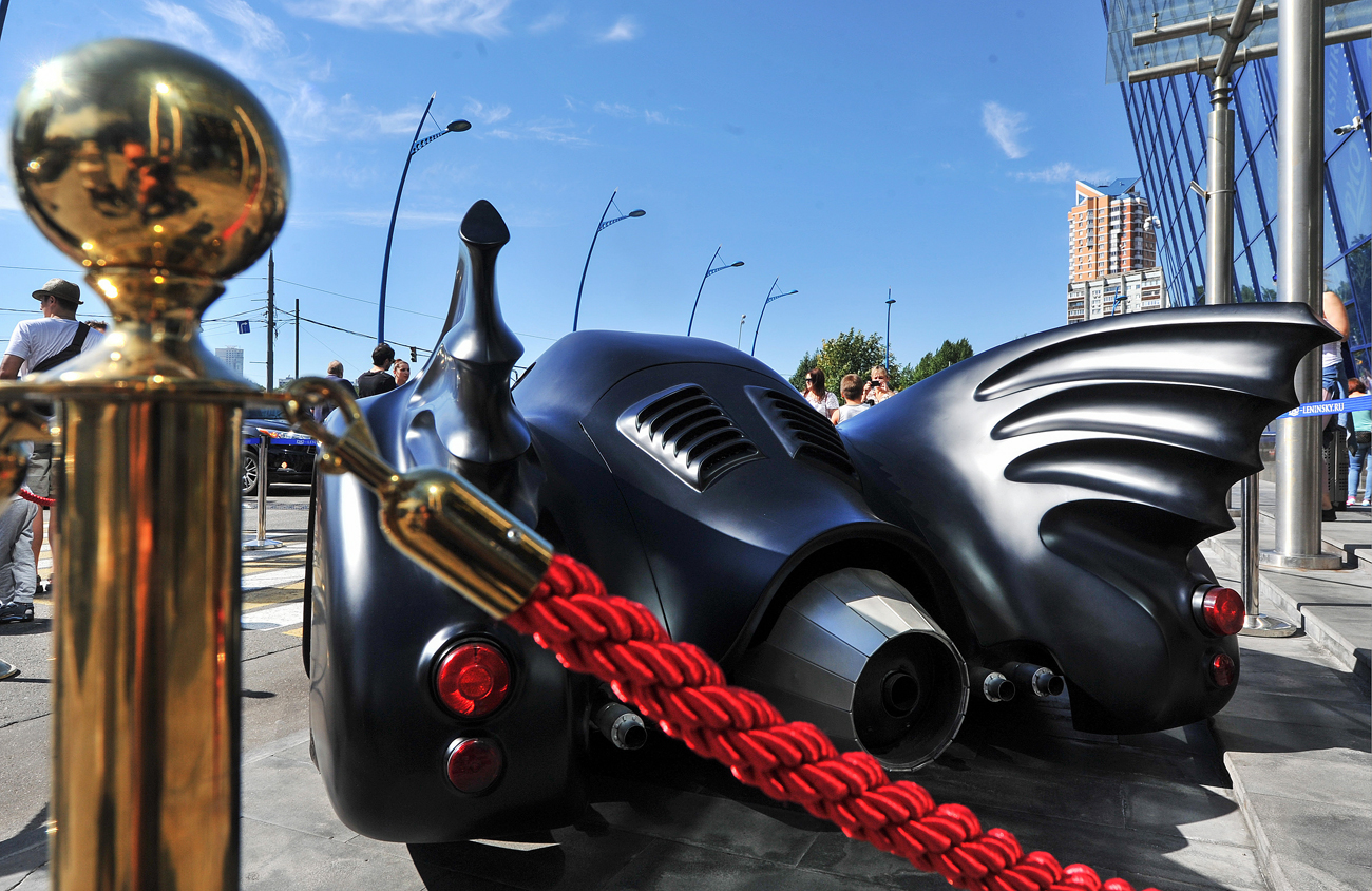 Batmobile replica for sale in Moscow