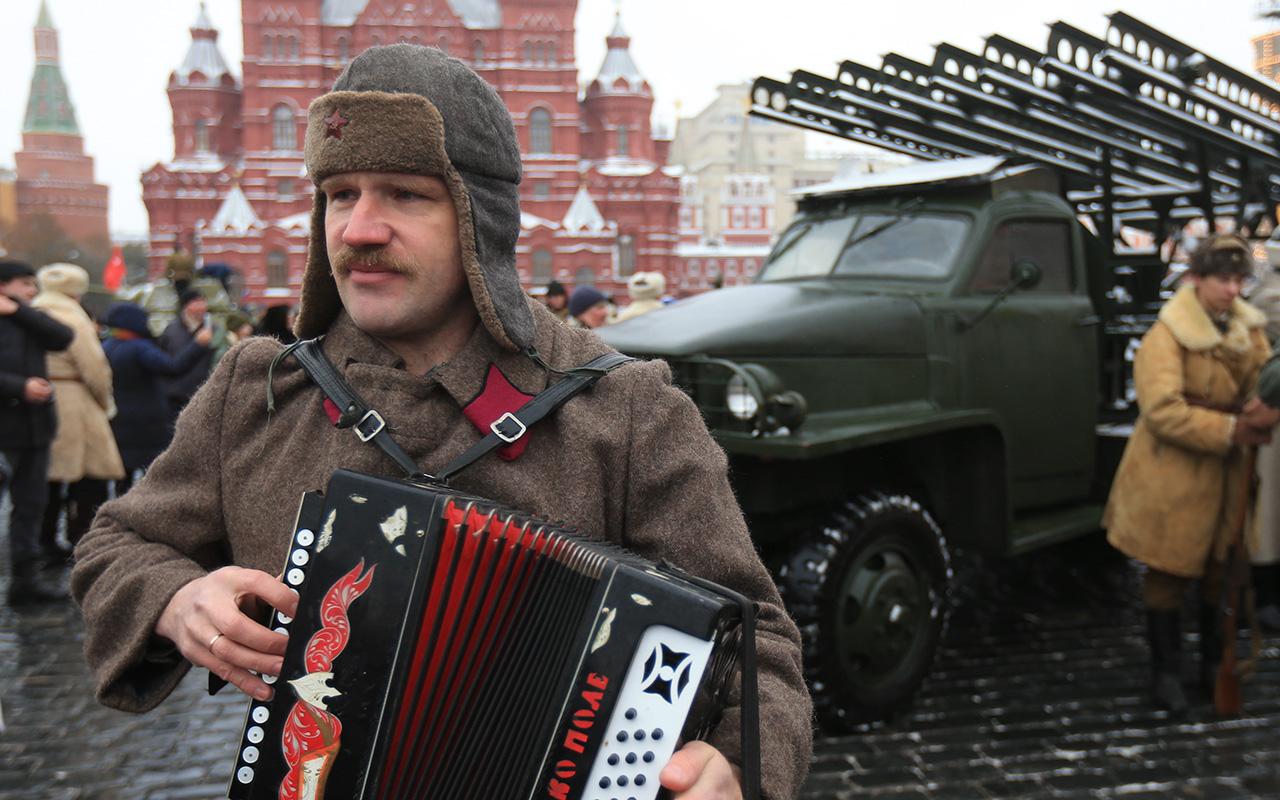 Moscow parade
