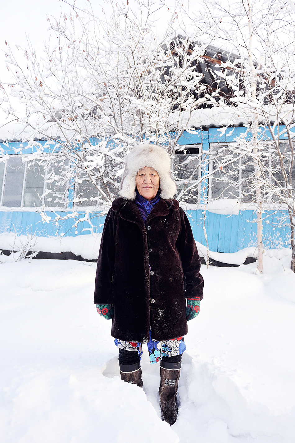 Yakutian winter