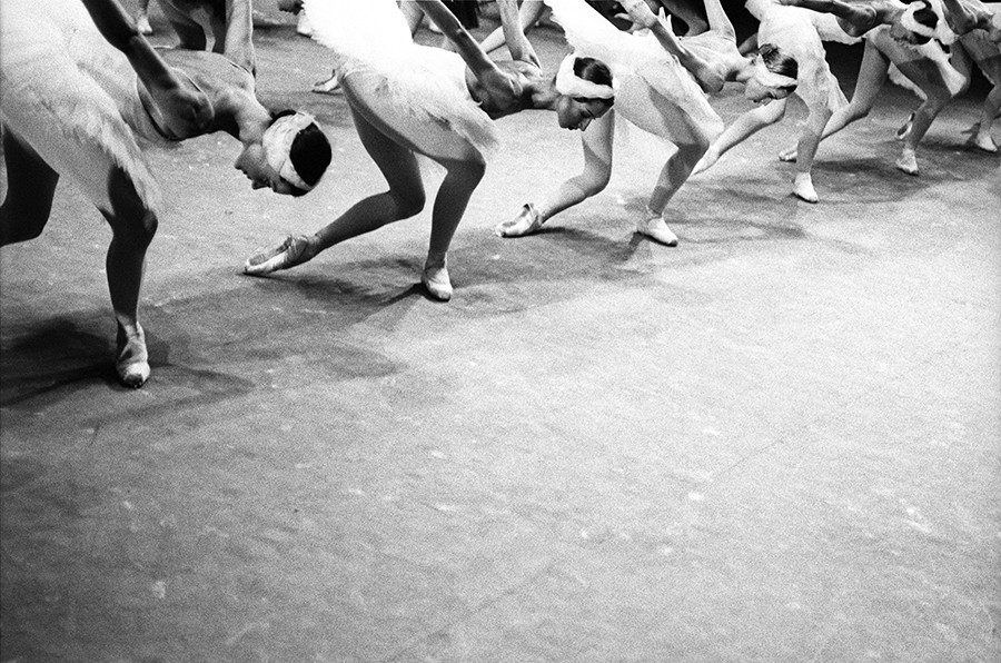 Bolshoi Ballet backstage