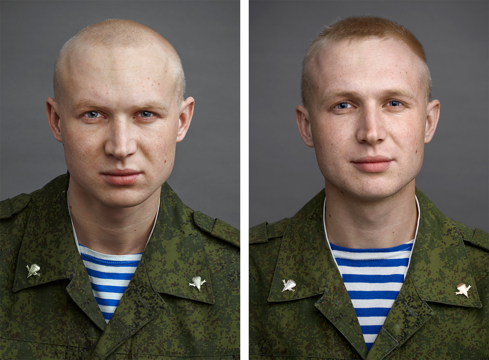 Russian army changes soldiers