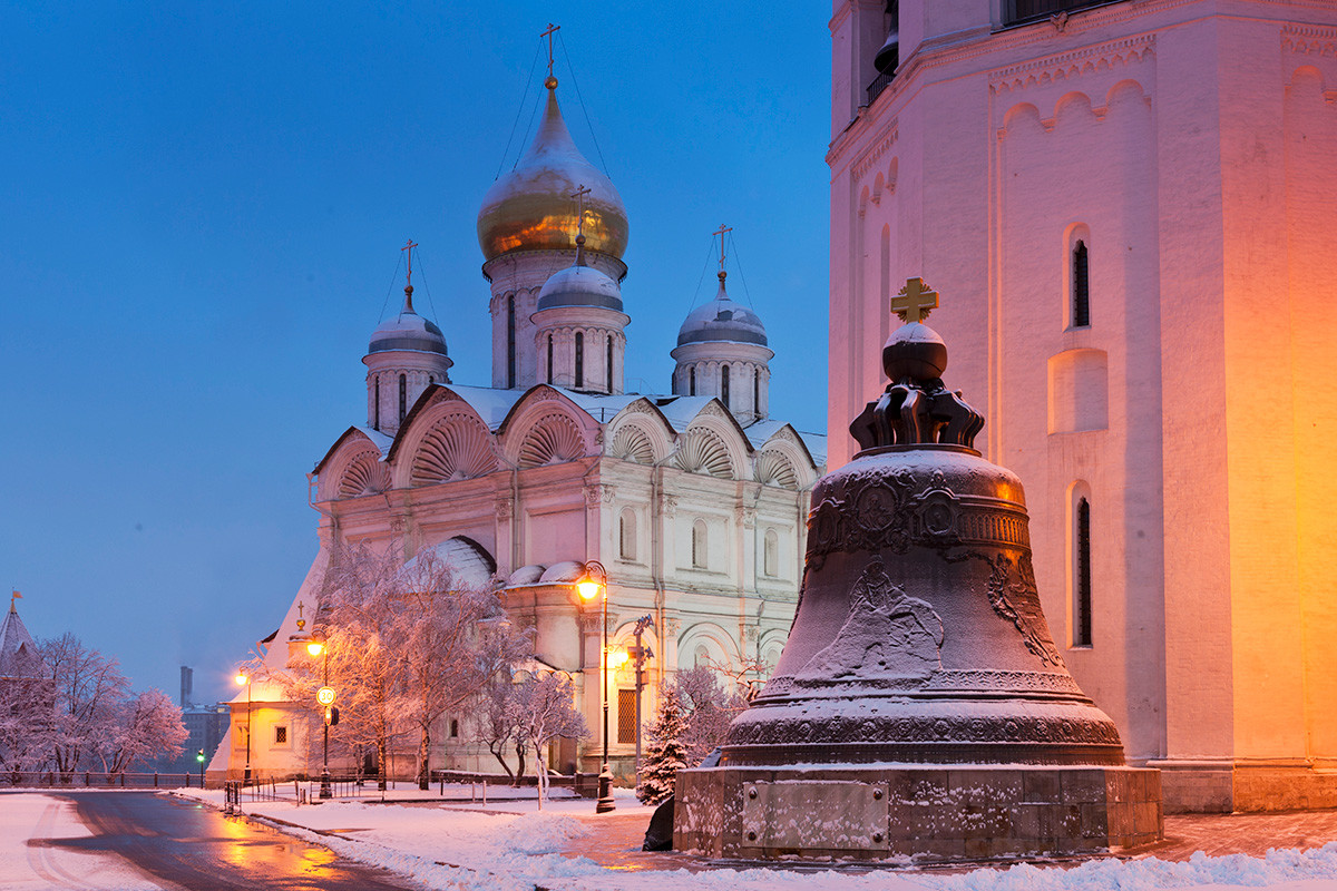 Cathedral of the Archangel and Tsar Bell