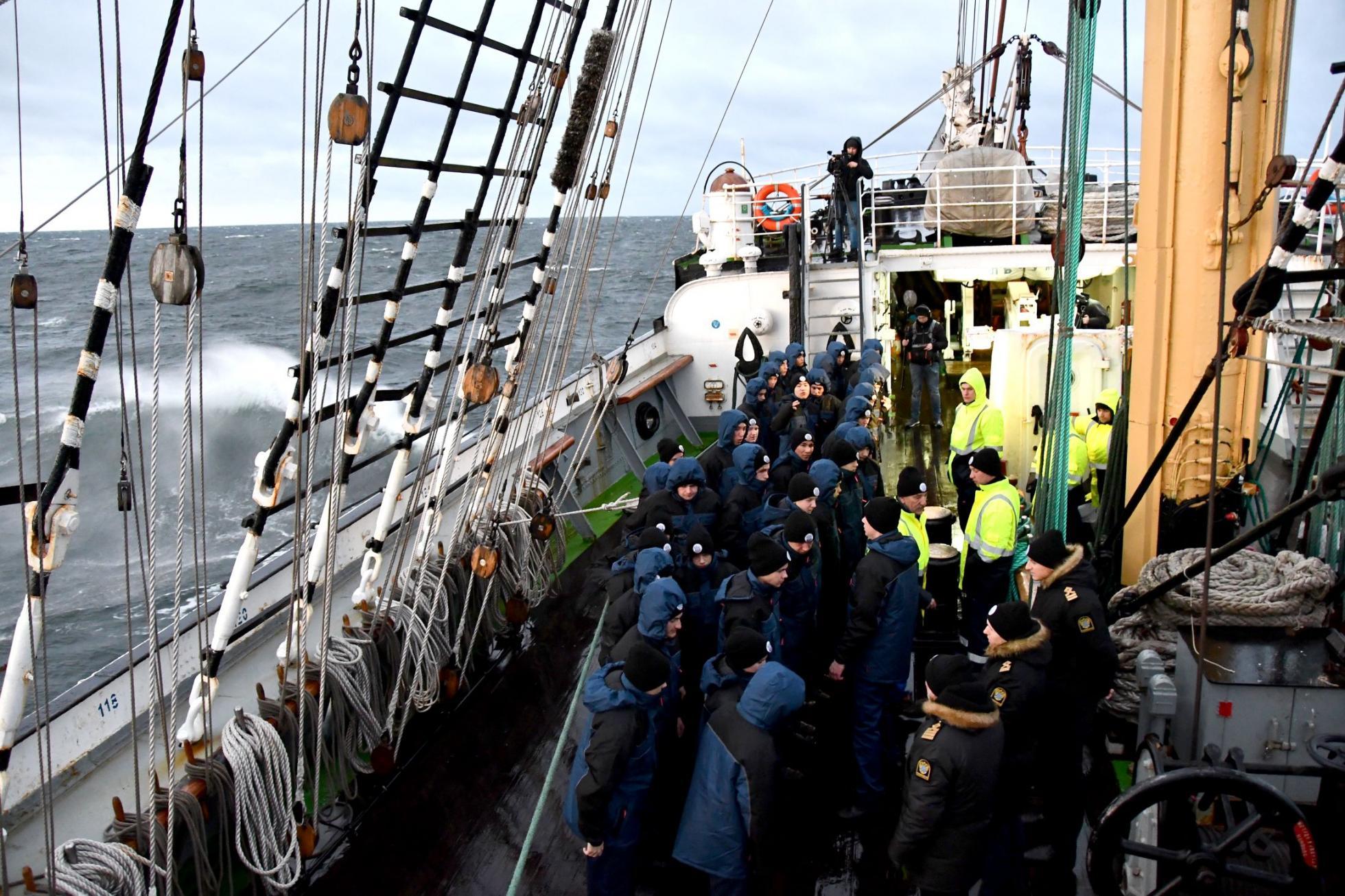 Kruzenshtern barque