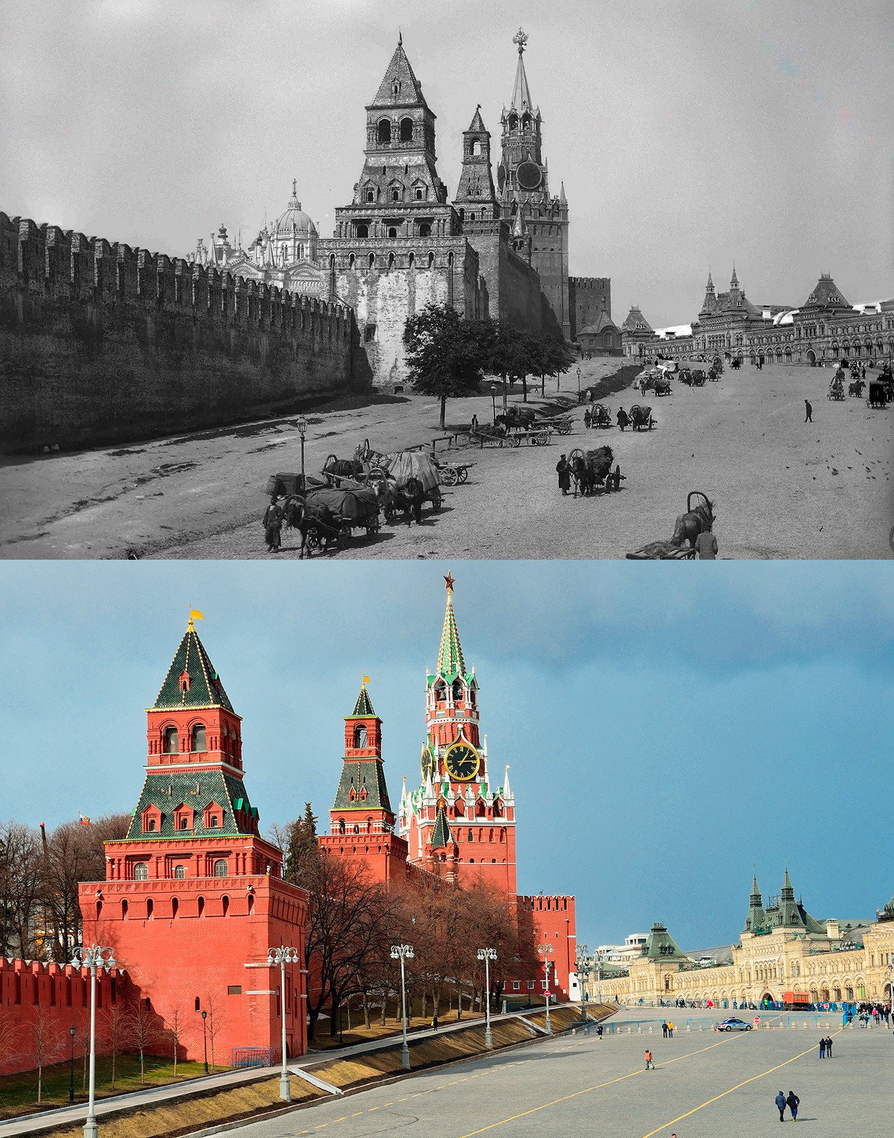 Vasilievsky Spusk sq.