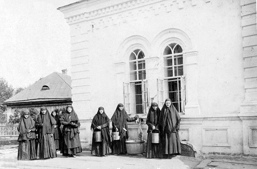Monks in tsarist Russia