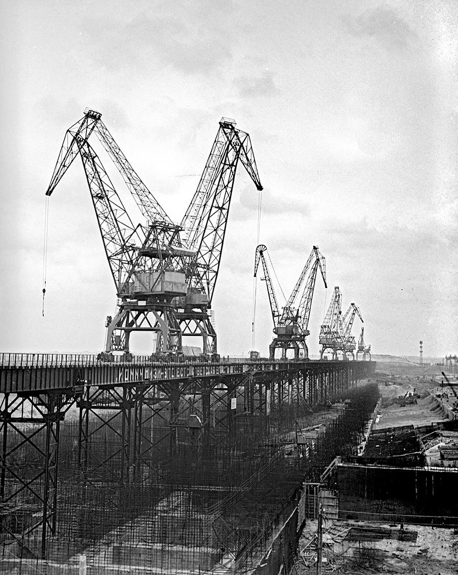 Volga Hydroelectric Power Station