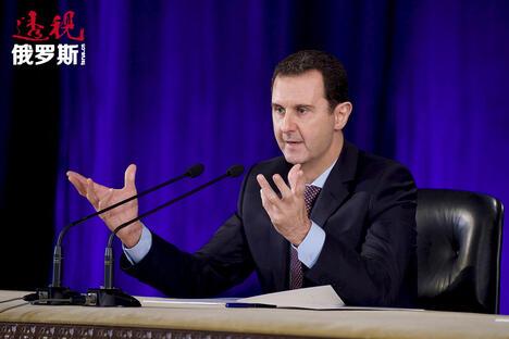 Syria's President Bashar al-Assad CN