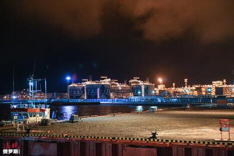 The Yamal LNG plant