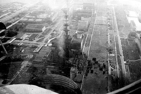 Pripyat Chernobyl nuclear plant